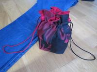 iichiで和服の古布で作った巾着袋を販売