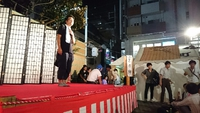 NHK『東京ウエストサイドストーリー』撮影中