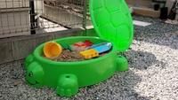 自宅の庭に砂場を作ろう!3才の誕生日プレゼント購入 2015/06/20 21:30:00