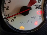 車のエンジンチェックランプ点灯→KEIYU八王子店へ