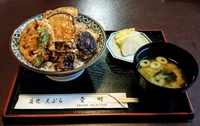 青梅駅近くで食事 蒲焼天ぷら「金時」