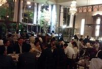 10名超えた!新宿御苑に面したカフェ・ラ・ボエムで東京支社会食