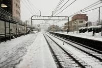 積雪の朝、遅延証明書にも要注意