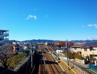 多摩県民で良かった!高尾山の麓から富士山と一緒にパノラマ写真撮影 2016/12/12 08:00:00