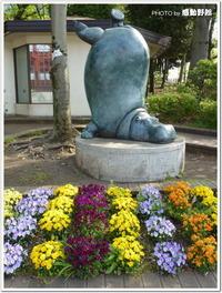 感動野郎が撮った写真「逆立ちしたカバと・・・」(羽村市)