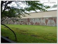 武蔵野美大生の「ゴミ・環境問題について考える壁画」