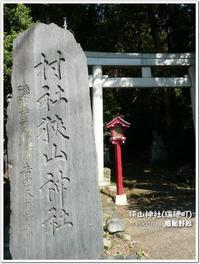 100段以上の石段を登り・・・勝海舟の!?狭山神社(瑞穂町)