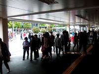 吉祥寺駅の路線バス。かつては超長距離路線バスも・・・ 2011/09/03 06:05:21