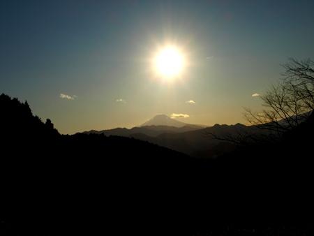 和田峠の日没1