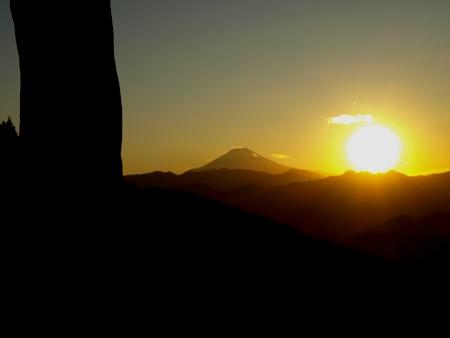 和田峠の日没2