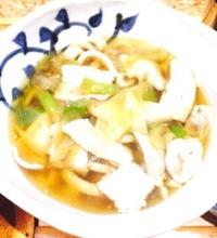 立川の駅ナカの武蔵のうどん美味しかったです♪