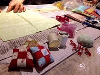 3月23日(木)は浅草橋「友安製作所カフェ」でminamiwaキルトカフェ開催!