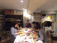 10月26日(木)は浅草橋「友安製作所カフェ」でminamiwaキルトカフェ開催!