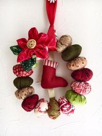 11月16日(木)は「キルトパフェ」特別企画~クリスマスリースを作りましょう~を開催します。