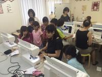 7月31日(火)は吉祥寺「ボビナージュ」で夏休み親子ミシン教室開催!
