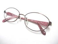 ご婦人用メガネも調光レンズで!