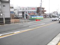 拝島駅前商店街の工事とフェア最終日