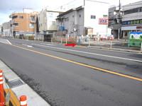 拝島駅前商店街の工事(H29/1/16~1/19まで)