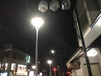 拝島駅前商店街の工事状況(H29/9/30)