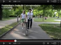 2輪左右2乗りバイク*Buddybike in Berlin