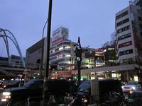 計画停電中の立川駅周辺(雪降る前に・・・)