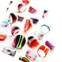 メガネ素材の指輪