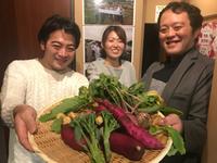スナップエンドウの種蒔きから高月米のご提供までのお話 2017/11/14 18:40:00