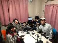 来週の27日のラジオに、またしても農場長出演です!! 2018/02/22 10:00:00