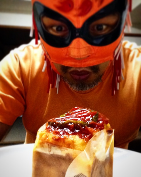 ナポリタンケーキと覆面シェフ