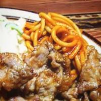 神保町に美味しい生姜焼きがあるんだって❗️っで…。
