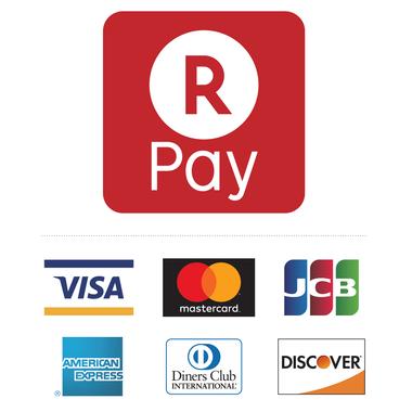 クレジットカード(楽天ペイ)でのお支払いが可能です。
