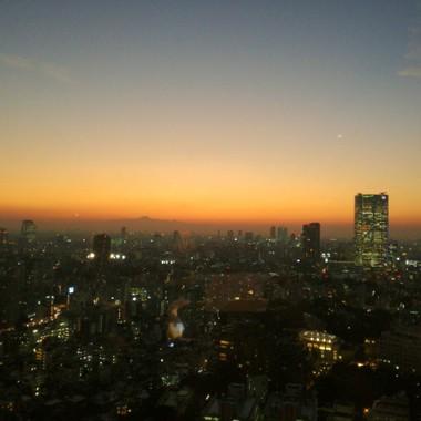 東京タワーの魔法の時間(マジックアワー)