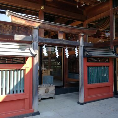 立川・諏訪神社の大鳥神社