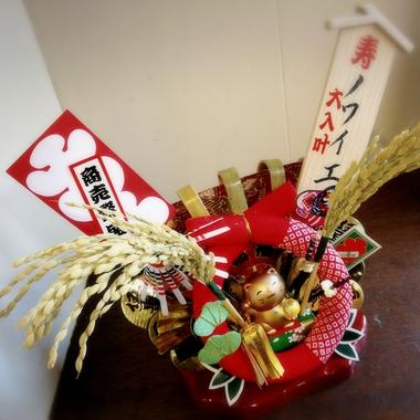 立川・諏訪神社の酉の市の熊手