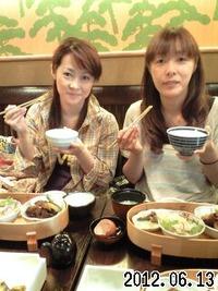 名古屋嬢とランチ&