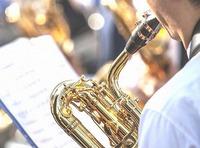 菅生高校吹奏楽部の演奏会開催