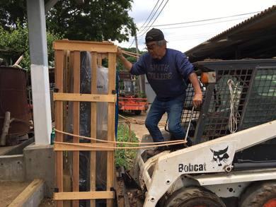 里山にも取り組む中で木の工作