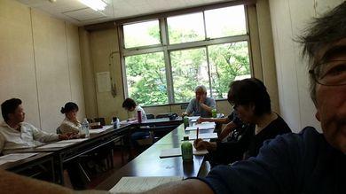 障害福祉施設NPO7法人の研修会を館町市民センター