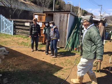 ユギムラ牧場農業体験農園の講習会