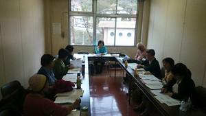 10月31日に東浅川保健福祉センターで 講演会の準備会をしていました。