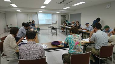 八王子協同エネルギーの総会