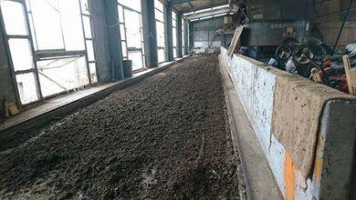 ユギムラ牧場の堆肥舎