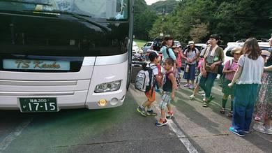 福島県の子供たちがやってきました