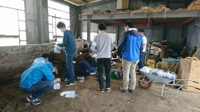 東京農業大学の学生が20人