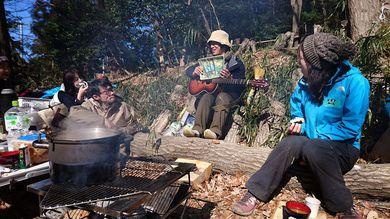 山田証(あかし)さんによる森の歌会