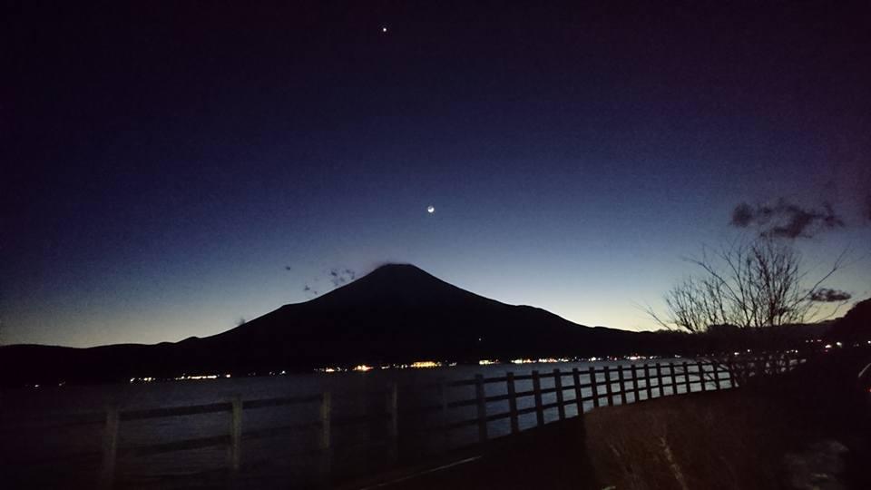 とても素晴らしい富士山が