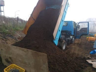 牛糞堆肥を2トンダンプ1台プレゼントしますと