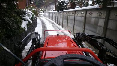 自分の住むところはきちっと除雪