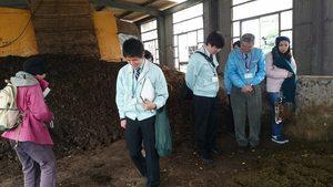 生ごみ堆肥化活動グループと八王子市ごみ減量対策課