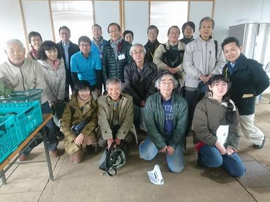 はちおうじ志民塾9期生の皆さんが ユギムラ牧場に視察